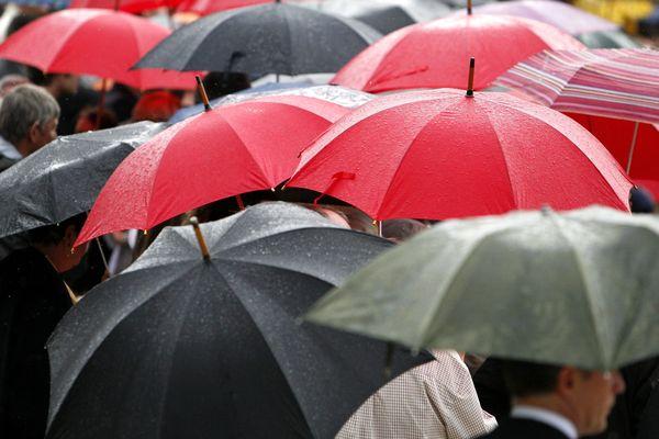 Une météo sous le signe du parapluie
