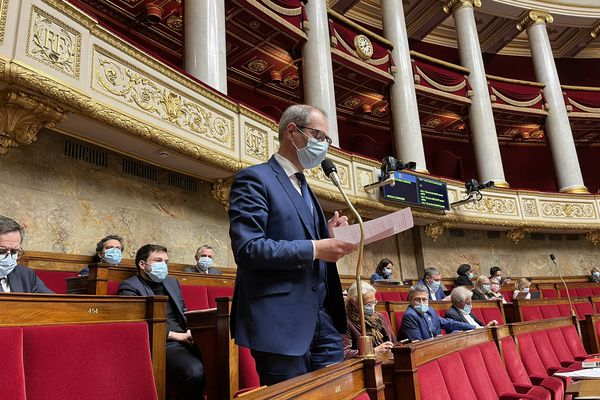Yannick Kerlogot,député LREM des Côtes d'Armor,a bataillé pour l'adoption de la proposition de loi sur les langues régionales.