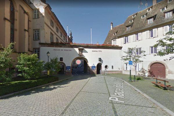 Des traces de radioactivité ont été découvertes dans l'ancien bâtiment d'oncologie du site de l'Hôpital civilde Strasbourg.