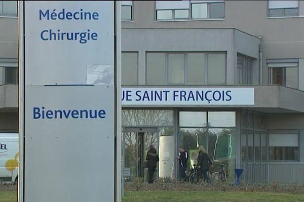 La clinique Saint-François de Mainvilliers (image d'archives).