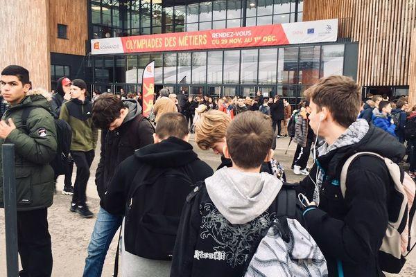 En l'espace de 2 jours, 25 000 collégiens et lycéens normands sont attendus au Parc Expo de Caen à l'occasion des 45e finales nationales des Olympiades des Métiers.