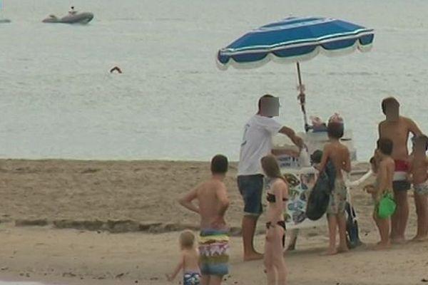 Montpellier - les vendeurs seraient sur les plages de Carnon et de la Grande Motte - août 2019.