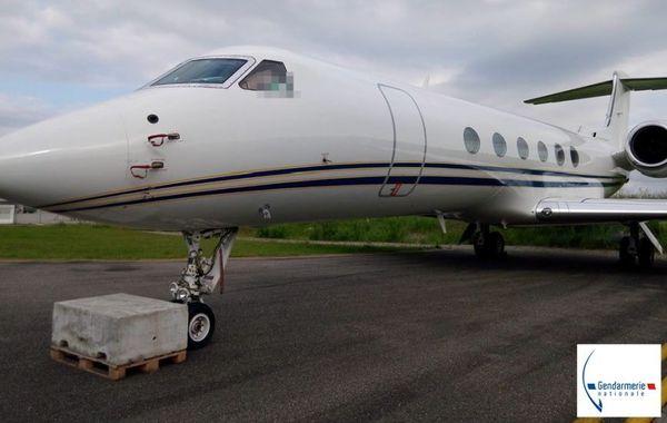 L'avion des trafiquants.