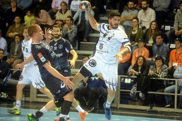 Victoire du MAHB 29 à 24 face à Dunkerque en 1/2 finale de la coupe de France de handball - 2/04/2016