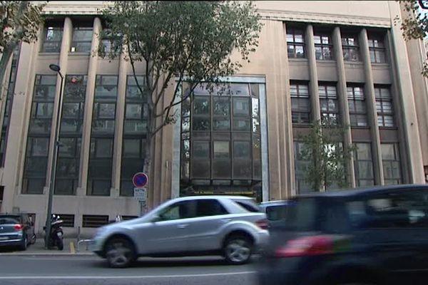 La direction générale des ressources humaines de la ville de Marseille, où a eu lieu la perquisition