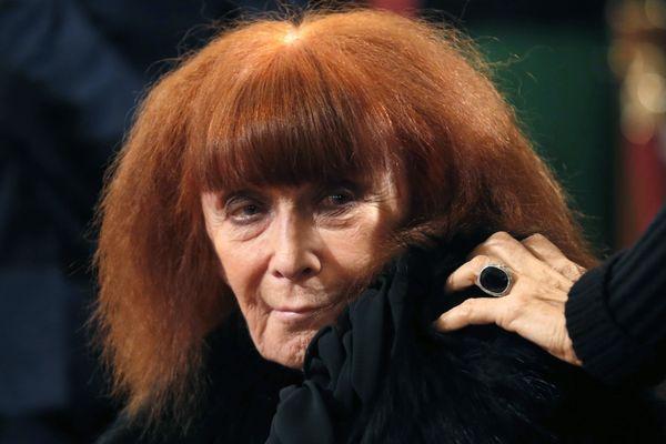 Sonia Rykiel, en 2013 à l'Elysée.