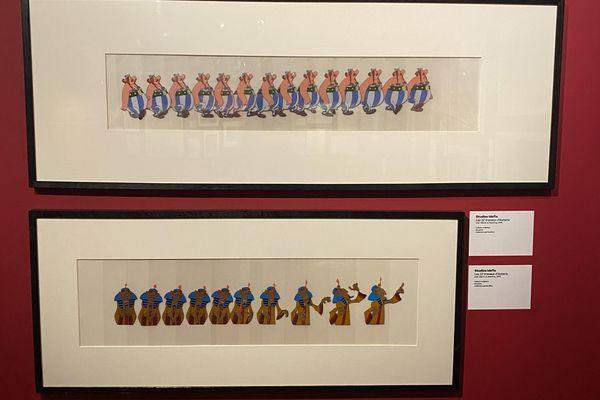 Les secrets de la confection d'un dessin animé sont révélés au cours de l'exposition.