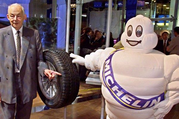 François Michelin le 29 septembre 2000