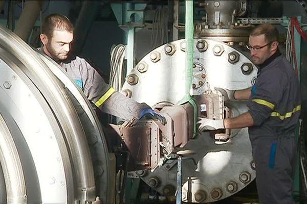 Employés de MBDA à Bourges