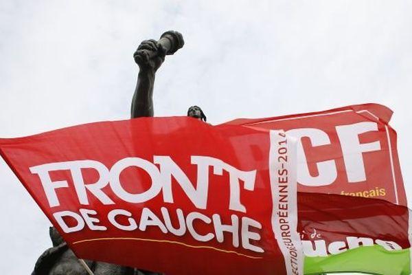 Manifestation Front de Gauche-PCF à Paris (illustration)