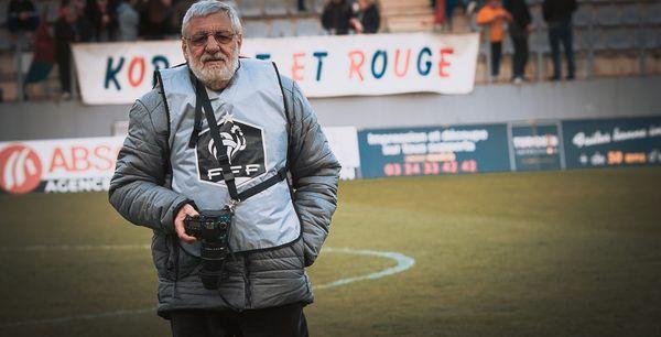 Quand la passion de la photographie rejoint le supporter de cœur, c'est un laisser-passer pour conforter la ferveur de Claude Lambert