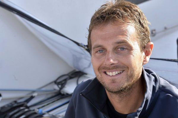 Stéphane Le Diraison, skipper de Compagnie du lit-Boulogne Billancourt.
