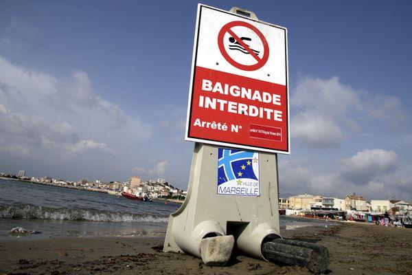 Les plages de la Vieille-Chapelle et de la Pointe-Rouge sont interdites de baignade