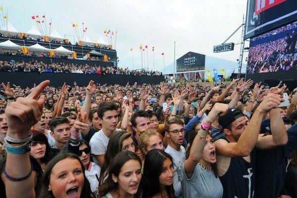 La Rochelle, le 13 juillet 2014 lors d'un concert des Francofolies.