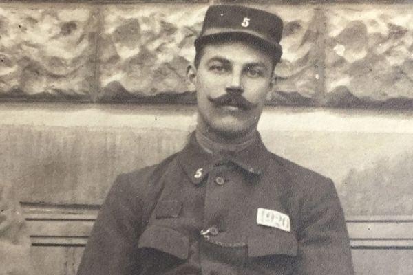 Le soldat Georges Noël, photographe amateur en 1917