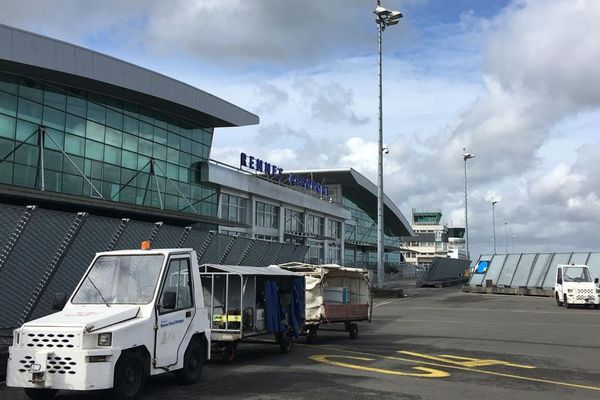 L'aéroport de Rennes en mars 2019