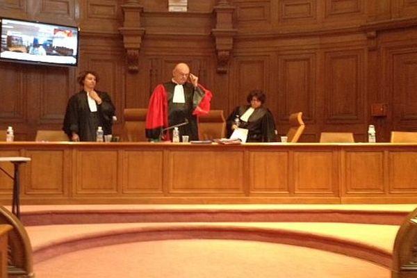 Montpellier Joël Mocaer, président de la cour d'assises de l'Hérault le 28 avril 2015.