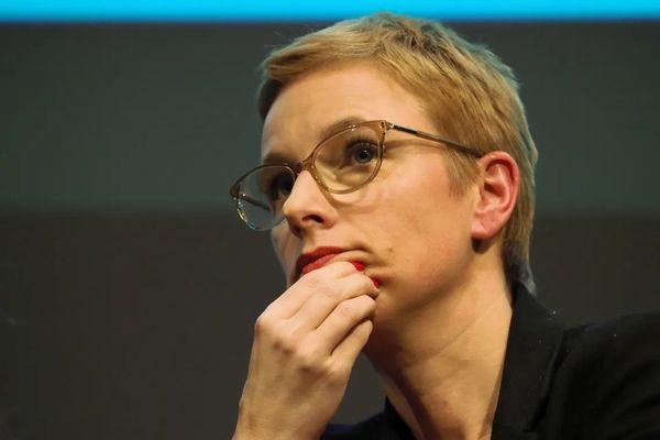 Clémentine Autain, députée La France Insoumise de Seine-Saint-Denis 16 décembre 2019 à Paris