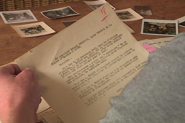 Le document signé par Robert Morlevat.