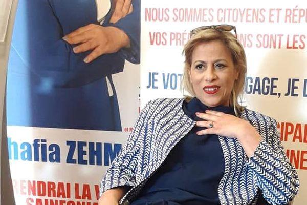 Chafia Zehmoul, tête de liste de Saint-Fons en mouvement - Société civile, a recueilli 10.74% des voix lors du 1er tour des élections municipales du 15 mars 2020.