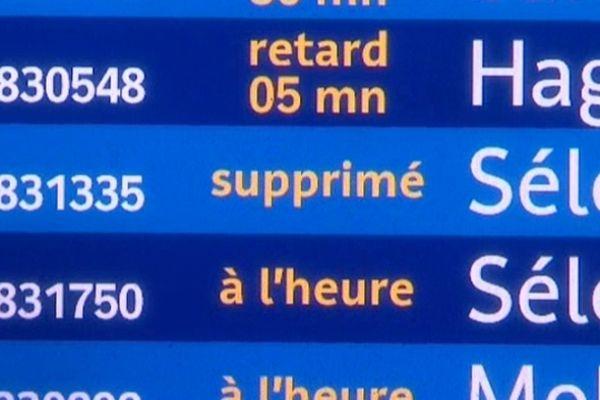 Des perturbations sont attendues au départ de Strasbourg