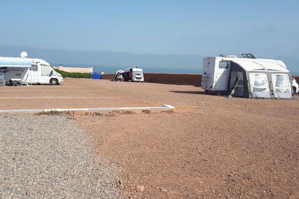 Les camping-caristes d'Occitanie installés au sud d'Agadir