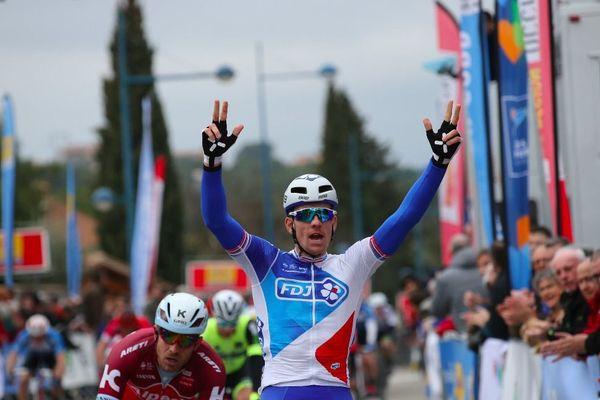 Étoile de Bessèges - Arnaud Démare remporte la 1re étape au sprint en s'offrant Kristoff