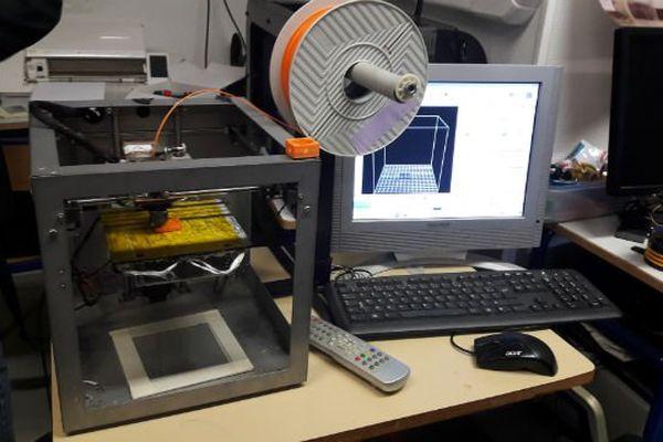 Le véhicule a été conçu notamment grâce à une imprimante 3D.