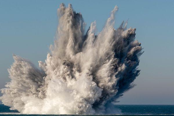 Du 18 février au 7 mars, l'OTAN a mené une opération de destruction de mines historique en Manche et Mer du Nord.