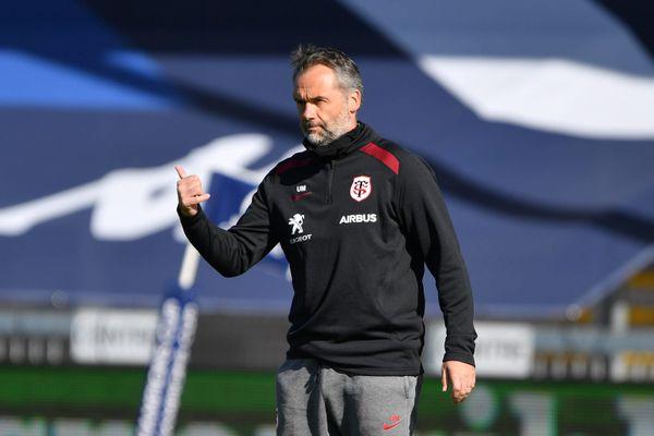 le manager du Stade Toulousain Ugo Mola suspendu un match