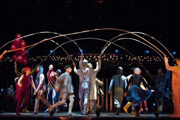 Le Cirque du Soleil présente le spectacle Quidam depuis 1996.