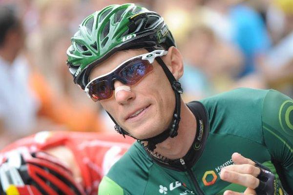 Tour de France 2015 Etape entre Rennes et Mur de Bretagne Pierre Rolland (Europcar)
