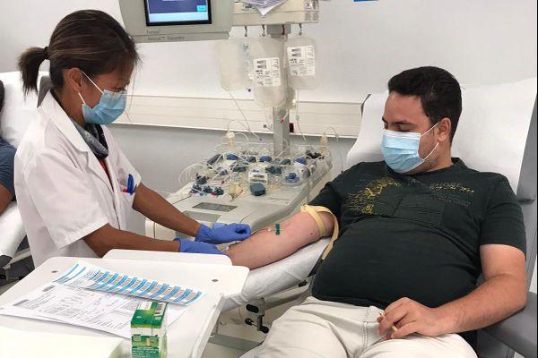 A Nice, la Maison du don du sang accueille 150 personnes par semaine sur rendez-vous.