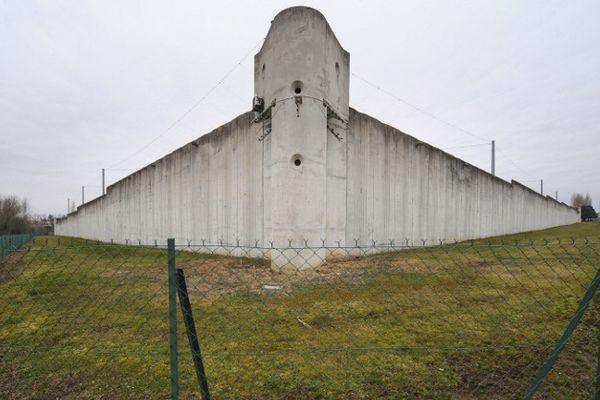 La prison centrale de Moulins/Yzeure dans le département de l'Allier