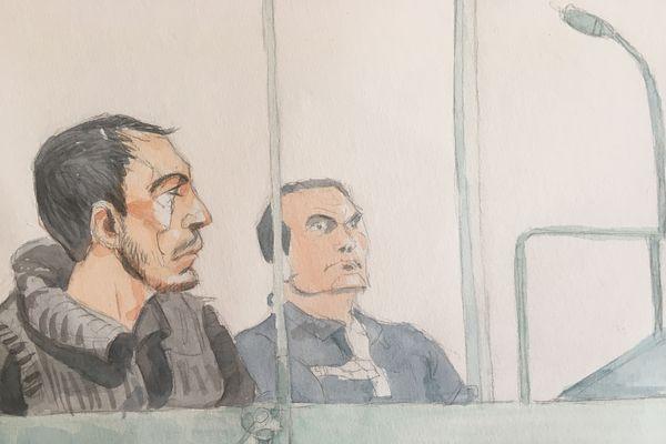 Grégory Mestre, dans le box des accusés de la cour d'assises des Ardennes
