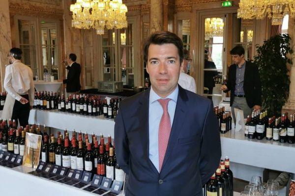 Ronan Laborde, le président de l'Union des Grands Crus de Bordeaux prévoit 65 sessions de 6 personnes pour ces 2 jours de dégustations à Bordeaux