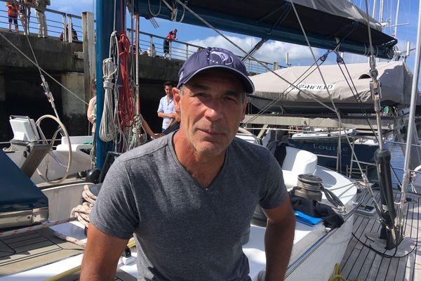 Mike Horn à Brest : cap sur l'Arctique