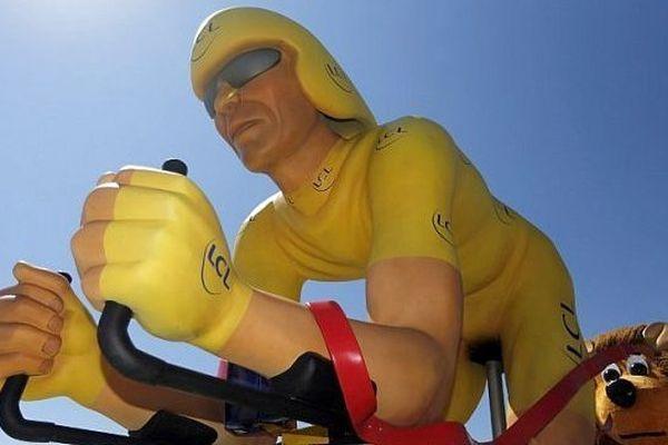 Le maillot jaune de la caravane publicitaire