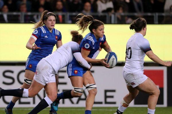 Gaelle Hermet est capitaine du XV de France féminin.
