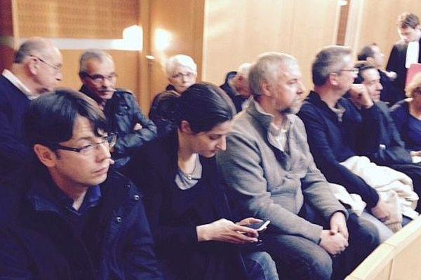 Montpellier - le prévenu au tribunal correctionnel - 19 février 2015.