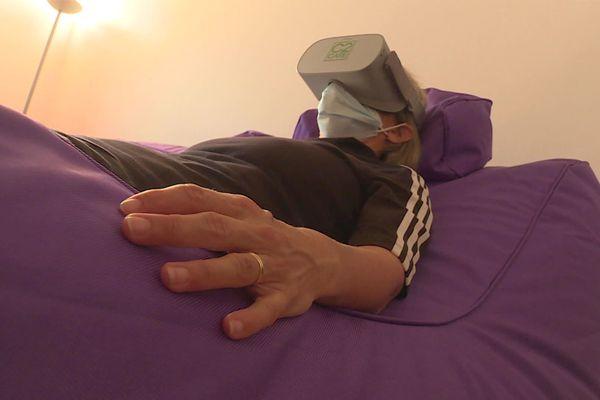 Remoulins (Gard) : au cœur d'une unité de prise en charge inédite des psychotraumatismes avec la réalité virtuelle - octobre 2021.