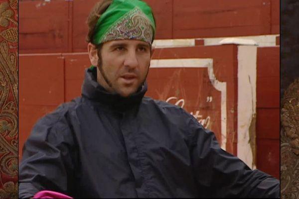Juan José Padilla en 2001. Pas de bandeau sur l'œil, mais déjà un air de pirate!