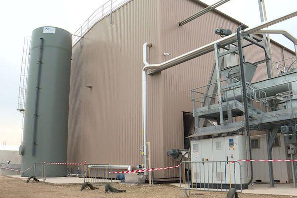 Dans cette centrale de Fécamp, on digère des déchets agricoles pour produite du biogaz.