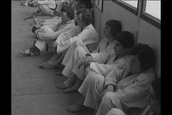 Judo : championnats régionaux individuels à Orléans en 1976