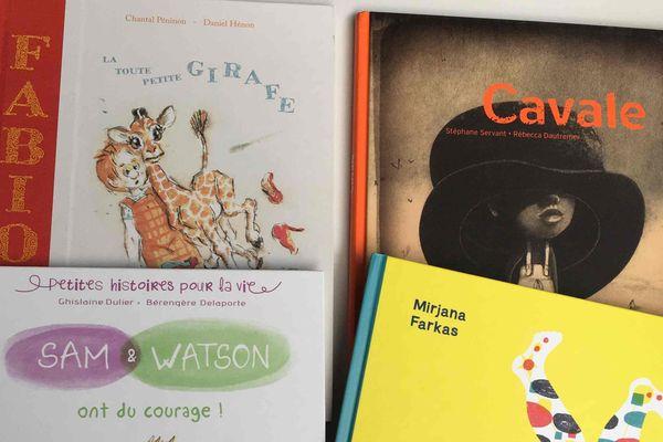 quatre livres poure nfants qui font grandir