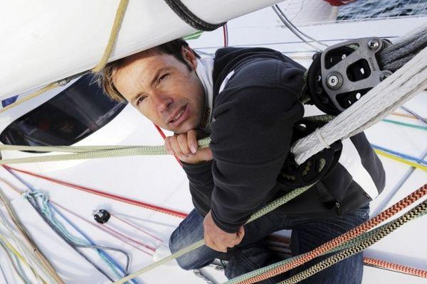 Le skipper Thomas Coville