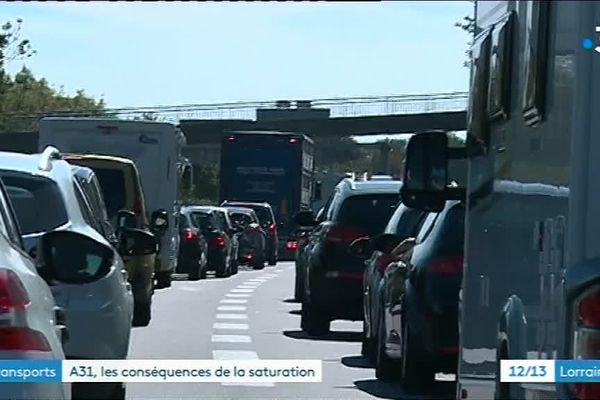 A Hettange-Grande en Moselle, le trafic routier est devenu insupportable.