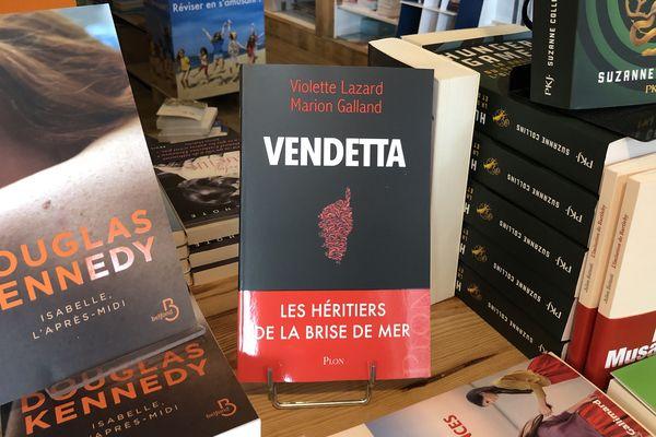 """La justice a autorisé la sortie du livre """"Vendetta"""" ce jeudi 11 juin. A Bastia, la librairie A piuma lesta en a vendu plus d'une vingtaine en une matinée."""