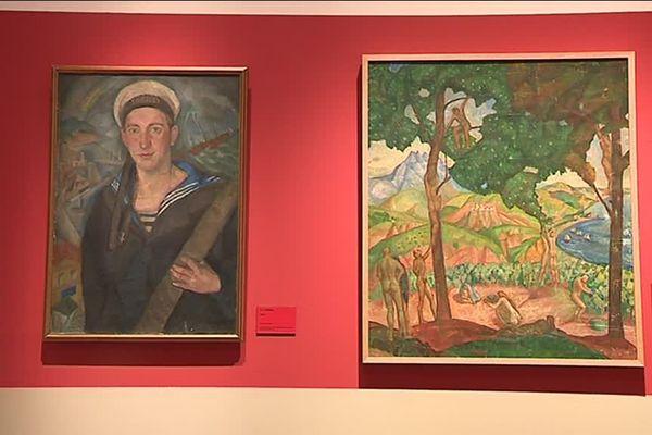 Exposition Alexandre Zinoview à l'Historial de Péronne