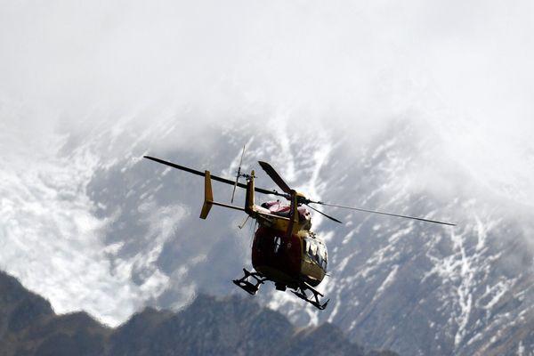 L'hélicoptère de la sécurité civile. Photo d'illustration